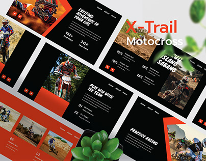 X-Trail - Motocross Presentation Template
