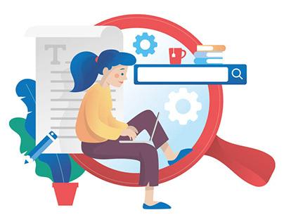 Vector Illustrations for Websites