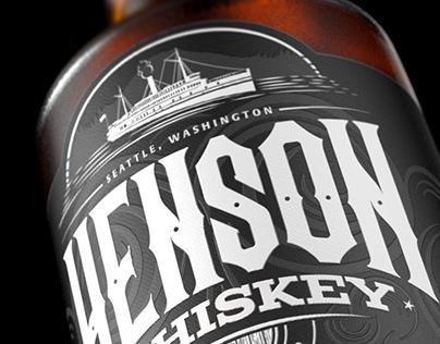 Henson Whiskey Branding