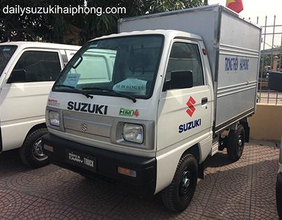 Xe tải Suzuki 5 tạ Hải Phòng thùng kín