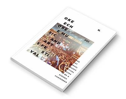 Okeechobee Music & Arts Festival Magazine Layout