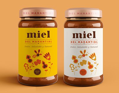 Honey packaging | Miel del Manantial