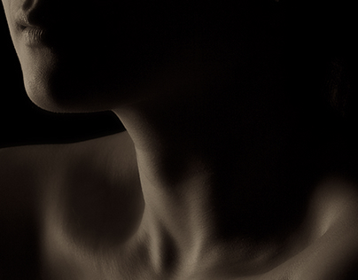 Neck and shadows