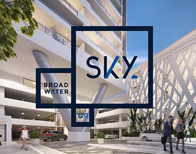 Sky Broadwater Branding