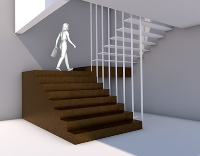 Competition for stairs