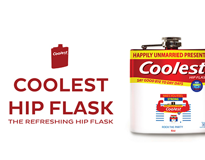 Coolest Hip Flask