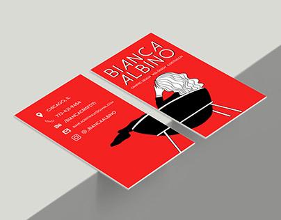 Business Card - Bianca Albino