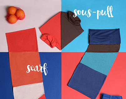 Color Blocking Flat Lay for Who's That Girl