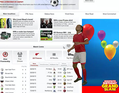 Shoprite Rich Media Homepage Takeover