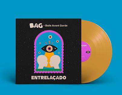 Cover & Lyric Video single Entrelaçado - BAG