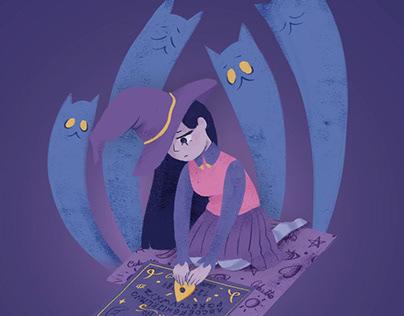Animación de ilustración de @AnnieVargas