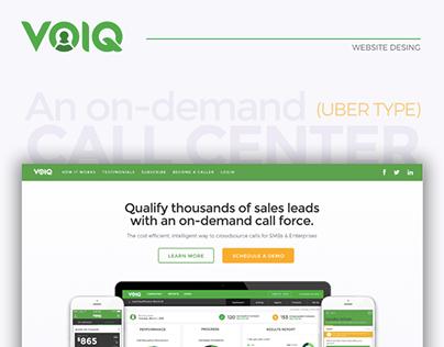 VOIQ - Website Design
