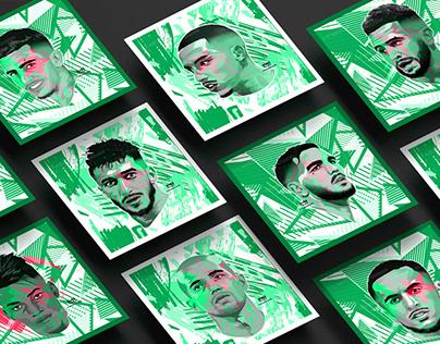 Algeria National Team - illustrations - Vol.03