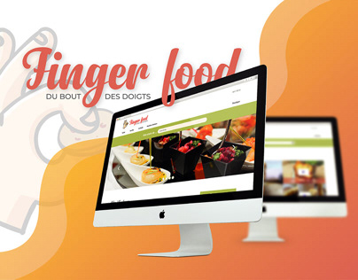 Finger food - Branding & Website