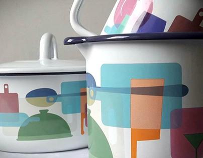 Decor design for Metalac d.o.o cookware