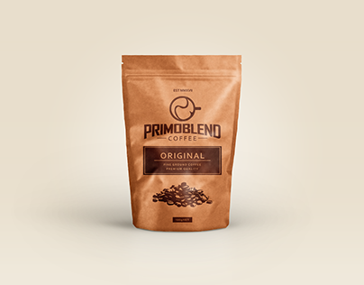 Primoblend Coffee - Logo + Packaging Design