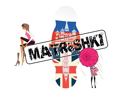 Logotype to MATRёSHKI series