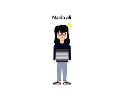 Naela Ali Illustration