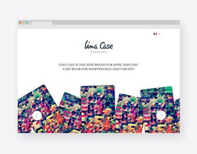Lina Case | web design