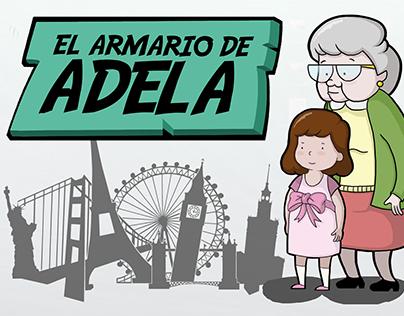 El armario de Adela (character design/animation)