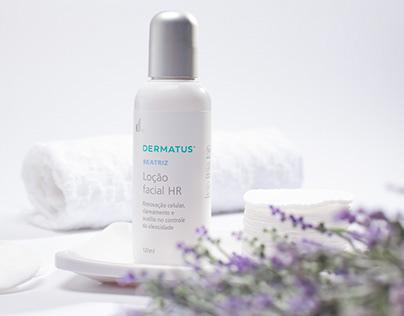 Dermatus Beatriz Loção Facial - Fotografia de produto