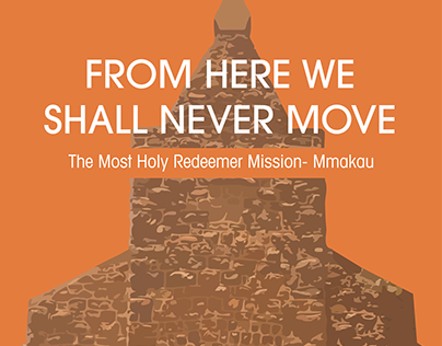 From here we shall never move- Book cover