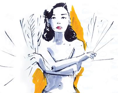 Desenho Burlesco / Burlesque Drawing