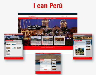 """Diseño web """"I can Perú"""""""