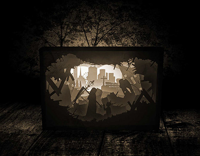 Paper light boxes