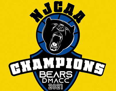 DMACC NJCAA CHAMPIONSHIP 2021 LOGO