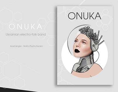 Series of posters Ukrainian bands and singers