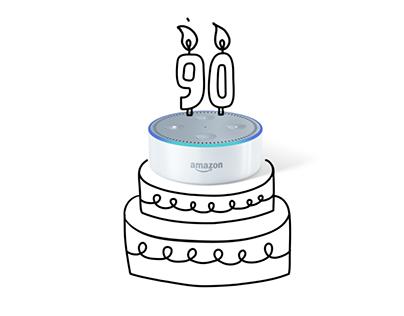 Amazon Alexa. Doodle animation campaign