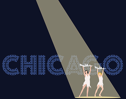 Chicago Musical Movie Poster Minimalistic