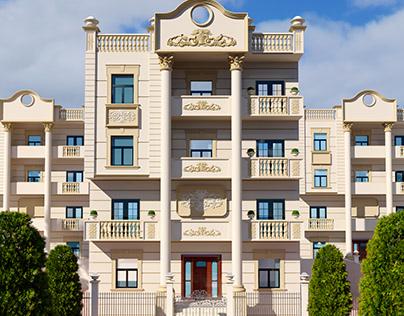Exterior Classic Design for private Villa