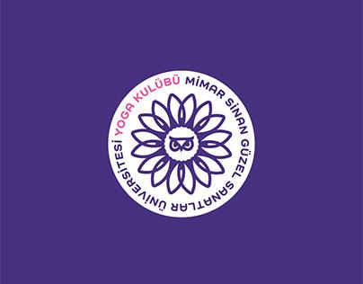 MSGSÜ Yoga Kulübü Logo/MSGSU Yoga Club Logo