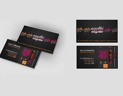 Card Design Sound Professional
