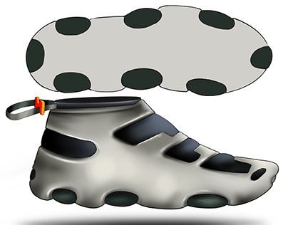Soft Rubber Shell Footwear Concept