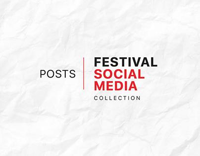 Festival Social Media Design