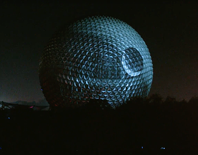 Spaceship Earth X Death Star