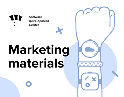 Marketing materials for CHI Software