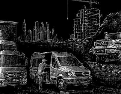 Mercedes-Benz Trucks Campaign