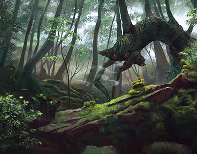 A forest spirit
