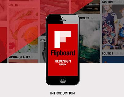 Flipboard Redesign UI/UX