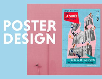 La Virée - Poster Design