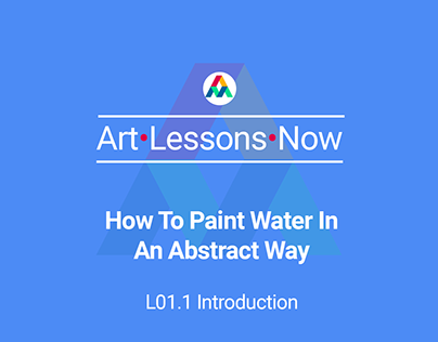 L01.1 How To Paint Water In An Abstract Way ALN