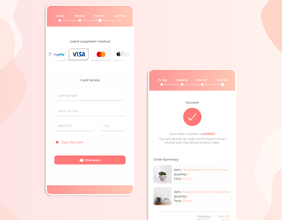 Credit Card Checkout Page (Daily UI Challenge)