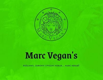 MarcVegan's - brand marketing
