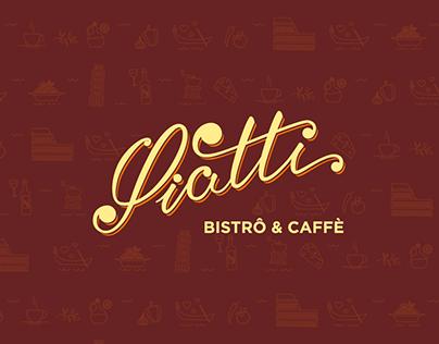 Piatti Bistrô & Caffè | Identidade Visual