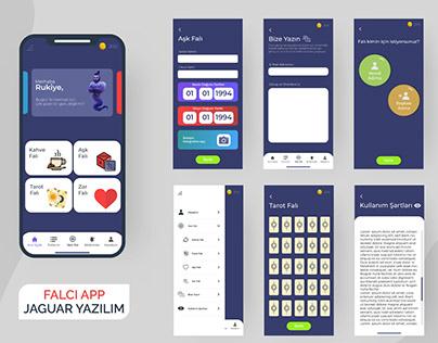 Fortune Telling Mobile Design UI/UX Design