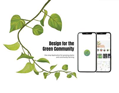 UI/UX |Thalir - App for Green Community